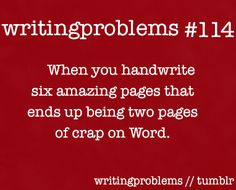 writingproblems:    Submitted by:  http://writingfromtheeheart.tumblr.com