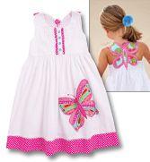 From CWDkids: Butterfly Back Dress
