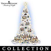 Thomas Kinkade's Village Christmas Tree Collection