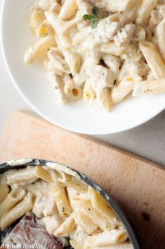 Cream Cheese Sauce, Penne Pasta, Food Inspiration, Risotto, Macaroni And Cheese, Good Food, Tasty, Meals, Chicken