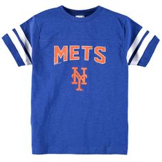 New York Mets Soft as a Grape Youth Shortstop T-Shirt - Royal - $16.99