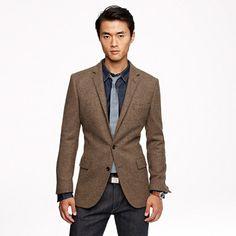 Ludlow sportcoat in harvest herringbone English wool / $328.00