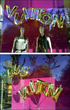 Louis Vuitton Playful Balloon Signage