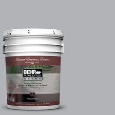 BEHR Premium Plus Ultra 5-gal. #770E-3 Pewter Mug Eggshell Enamel Interior Paint