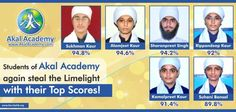 #‎CBSEResult‬ ‪#‎AkalAcademy‬ From Humble Beginning To High-End Sky! Students of Akal Academy Muktsar again steal the Limelight with their Top Scores! The most surprising part is that none of the students of Akal Academies are subscribed to the tradition   of taking tuitions; in fact the responsibility of support & guidance beyond schooling hours is   fulfilled by the Academy staff, within the school itself, even if it has to be working beyond the   stipulated hours.