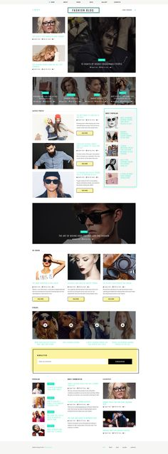 Fashion Blog Responsive Joomla Template #63409