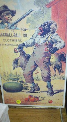 Found these old, racist, metal ad placards at a nearby consignment shop. Uploaded with the intent to illustrate controlling images of people of color. Vintage Ads, Vintage Posters, Vintage Black, Old Advertisements, Dark Thoughts, Black Artwork, Old Ads, African American History, Black