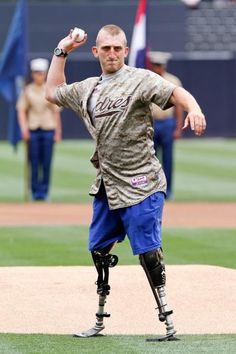 USMC wounded veteran Doug Jones