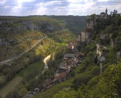 Rocamadour Rocamadour France, Le Lot, Hdr, Grand Canyon, Photos, Nature, Travel, Photography, Pictures