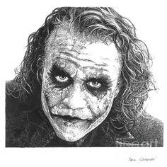 The Joker, pencil portrait Joker Sketch, Joker Drawings, Realistic Drawings, Art Drawings Sketches, Pencil Drawings, The Joker, Joker Art, Joker Joker, Batman Art