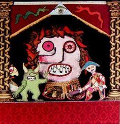 """""""Mi piace"""": 10, commenti: 1 - massimo j. monaco (@massimo.j.monaco.artist) su Instagram: """"THE GREAT THEATRE OF PUPPETS (Scenography of the play Pinocchio) 1980 m.3x12 - Two-dimensional…"""""""