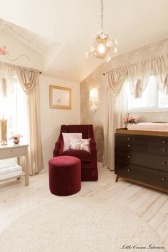 Dancing with the Stars Champion, J.R. Martinez' beautiful nursery by Little Crown Interiors!