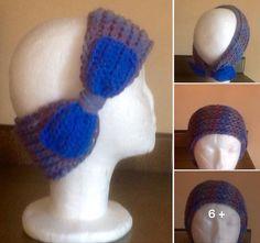 Banda para la cabeza en crochet Manualidades Mathelo