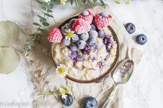 Blueberries and Cream Steel Cut Oatmeal