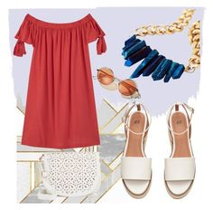 """""""Untitled #283"""" by janicevc on Polyvore featuring MANGO, Under One Sky and summersandals"""