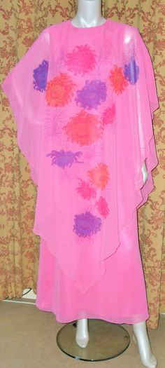 Check out this item in my Etsy shop https://www.etsy.com/uk/listing/250064045/1970s-pink-chrrysanthemum-layered-maxi