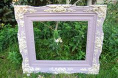 Color Emile was use to paint this Frame in Chalk Paint® decorative paint by Annie Sloan  by Shades of Amber