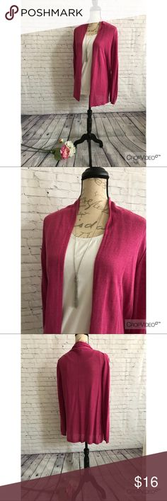 Banana Republic Cardigan, Large Banana Republic Cardigan, Large, dark pink, EUC Banana Republic Sweaters Cardigans