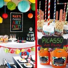 Picasso Art Party - Art