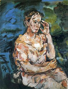 Oskar Kokoschka (austrian, 1886-1980) •  artist, poet and playwright best known for his intense expressionistic portraits and landscapes. Kokoschka had much in common with his contemporary Max Beckmann. Both maintained their independence from German Expressionism, yet they are now regarded as its supreme masters, who delved deeply into the art of past masters to develop unique individual styles.