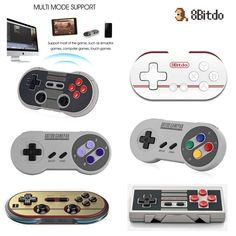 8Bitdo Wireless Bluetooth GamePad Joystick Controller for iOS Android PC Mac #8bitdo