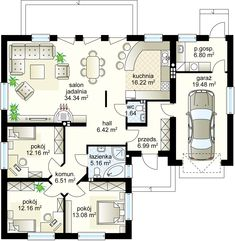 home layout plans 697635798503058202 - Pralina projekt – Parter m² + garaż m² Source by Best House Plans, Dream House Plans, House Floor Plans, House Layout Plans, House Layouts, Steel Framing, House Plans Mansion, House Construction Plan, Adobe House