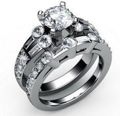 diamantes, diamantes y anillos de compromiso