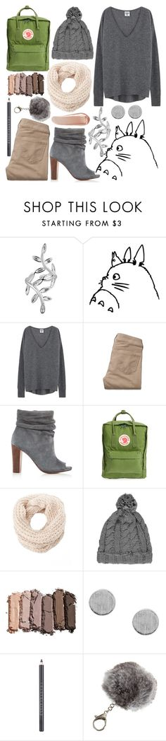 """// totoro //"" by polaris22 ❤ liked on Polyvore featuring Ghibli, Hollister Co., Splendid, Fjällräven, Charlotte Russe, Urban Decay, Chantecaille, Overland Sheepskin Co. and NARS Cosmetics"