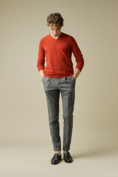 Casual Style - With red - | CASUAL | STYLING | B.R.ONLINE