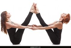 37 best two person yoga images  partner yoga partner