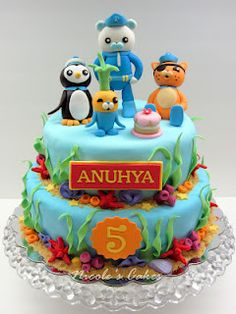 Confections, Cakes & Creations!: The Octonauts Cake!