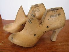 shoe lasts. I have these with the Frenchy on them....no heels.  gonna get some!!