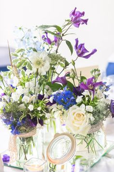 London Rowing Club wedding table decorations
