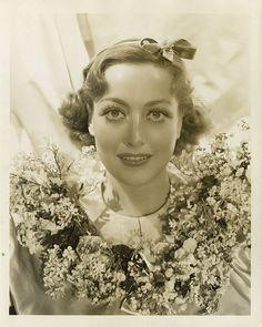 Joan Crawford by George Hurrell .
