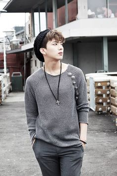 [OFFICIAL]B.A.P Youngjae – Concept Photo For 'Coffee Shop'