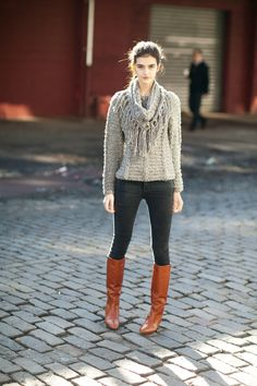 Matilde boots styled with M.Patmos