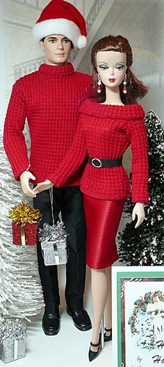 Holiday Ensemble Set for Him & Her
