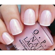 OPI-Its a girl perfect touch of soft pink