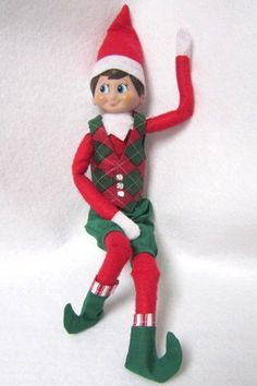 diy elf on the shelf clothes pattern google search shelf elf elf on the - Christmas Elf On The Shelf