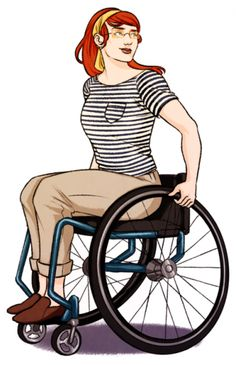 Barbara Gordon as Oracle (in a more maneuverable wheelchair) Character Poses, Character Art, Character Design, Character Ideas, Pose Reference, Drawing Reference, Drawing Tips, Drawing Ideas, Dc Batgirl
