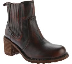 036597d2e Rocket Dog Edward Ankle Boot - Chocolate Burnout Leather with FREE Shipping  & Exchanges. The