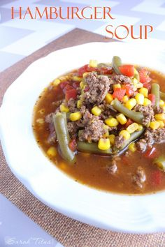 This is a quick and easy meal that's light on your budget and hearty in your tummy. We call it hobo stew. Beef Recipes, Soup Recipes, Dinner Recipes, Cooking Recipes, Healthy Recipes, Cooking Ideas, I Love Food, Good Food, Healthy Cooking