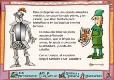 More Knights - this is in Spanish: need it translated, someone. Little Girl Toys, Toys For Girls, Room Themes, Party Themes, Ap Spanish, Medieval Times, Middle Ages, Geography, Homeschool