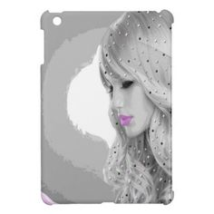 #pink - #Pink Angel Cover For The iPad Mini