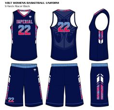 00c46fb52b9 Savage Women's Sublimated Basketball Uniforms are lightweight and custom  Basketball Uniforms your players will dominate in!