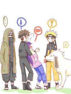 Team 8 & Naruto XD