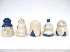 "the ""minis"", little vases sonia pulido for UHAALA! www.UHAALA.com"