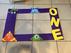 Monsters inc photo frame !!