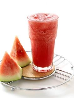 """Watermelon Wave"" Recipe...1 scoop Tropical Shakeology...1 cup water...1/2 cup watermelon chunks.  Blend!"
