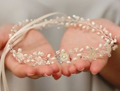 Bridal Freshwater Pearl Handcarved Mother by VirginiaGeigerJewels